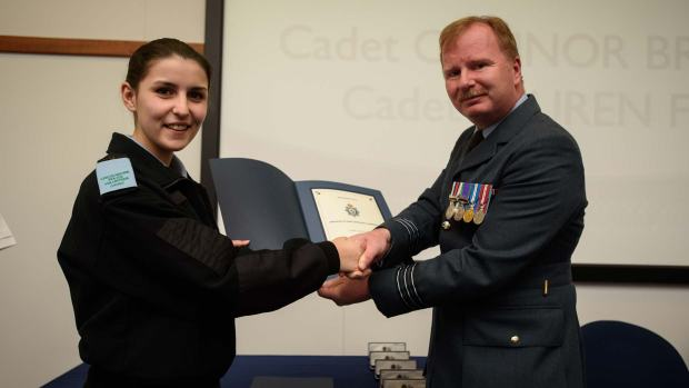 17-year-old junior cadet Lauren Fox. Photo: Steve Smailes for The Lincolnite