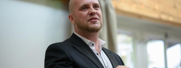 Daniel Ionescu, Publisher of Lincolnshire Business and organiser of Lincolnshire Business Expo. Photo: Steve Smailes