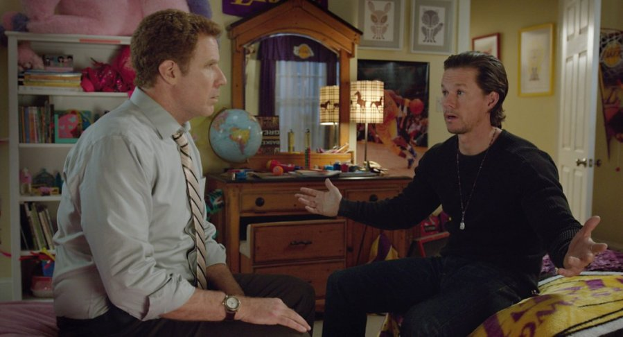 Will Ferrell and Mark Wahlberg in Daddy's Home. Photo by Paramount Pictures.