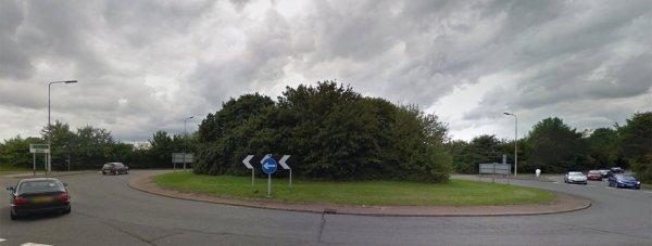 Nettleham roundabout heading south towards Lincoln. Photo: Google Street View