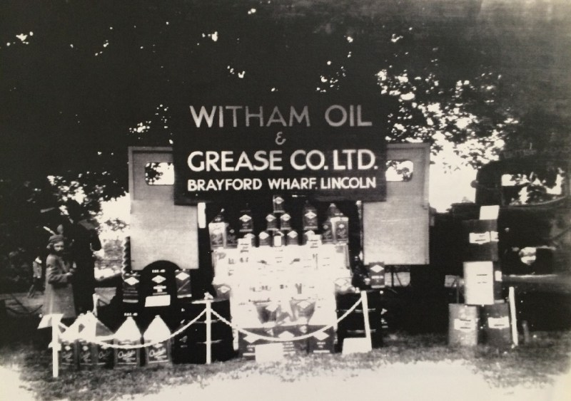 Witham Oil and Gease at the Lincolnshire Show in 1949.