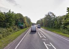 A section of the Lincoln bypass will be closed on Sunday. Photo: Google Street View