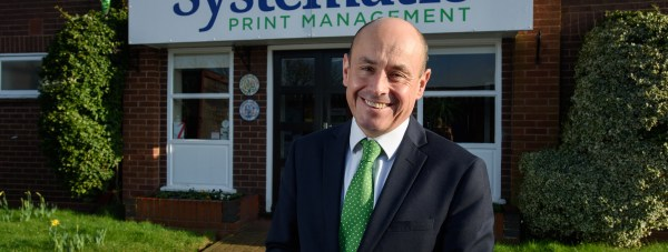 Chris Robey, the man at the helm of Systematic Print Management