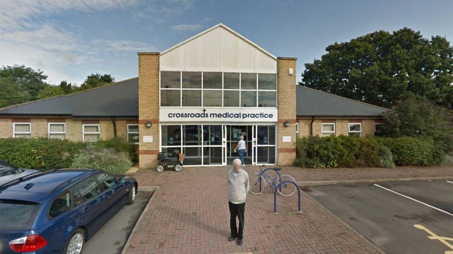 Crossroads Medical Practice in North Hykeham. Photo: Google Street View