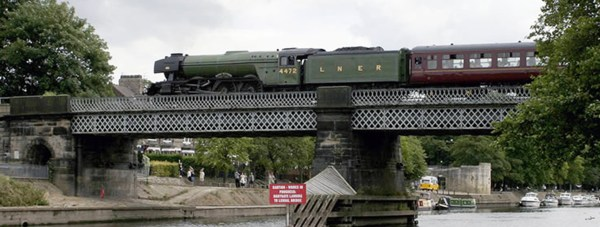 The Flying Scotsman will pass through Lincolnshire this morning.