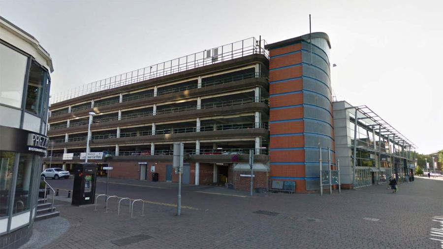 Lucy Tower car park. Photo: Google Street View