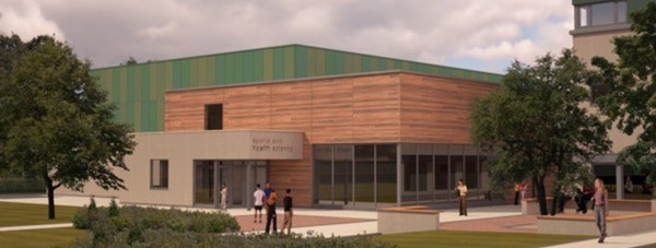 Impressions of the new Sports and Health Science Centre at Riseholme College's Lincolnshire Showground campus. Photo: Bishop Burton College