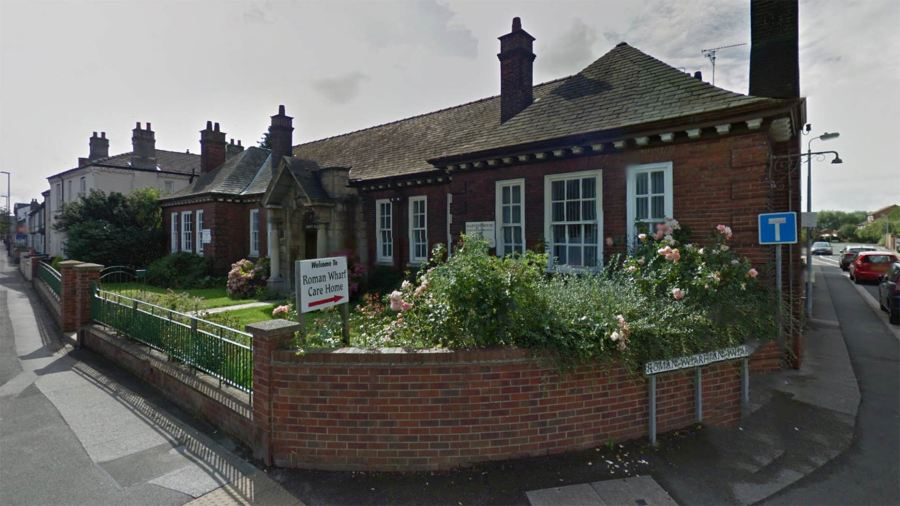 Roman Wharf Nursing Home in Lincoln. Photo: Google Street View