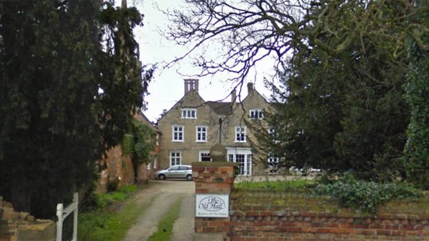 The Old Hall at Billingborough. Photo: Google Street View