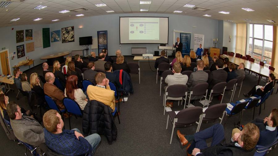 Delegates at The Family Business Forum. Photo: Steve Smailes