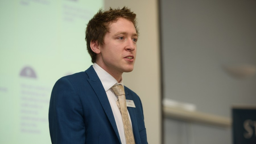Chris Brown Business Development Manager for Andrew and Co. Photo: Steve Smailes