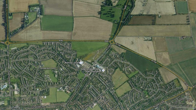 The A46 will be closed over night between A15 roundabout and A158 roundabout.