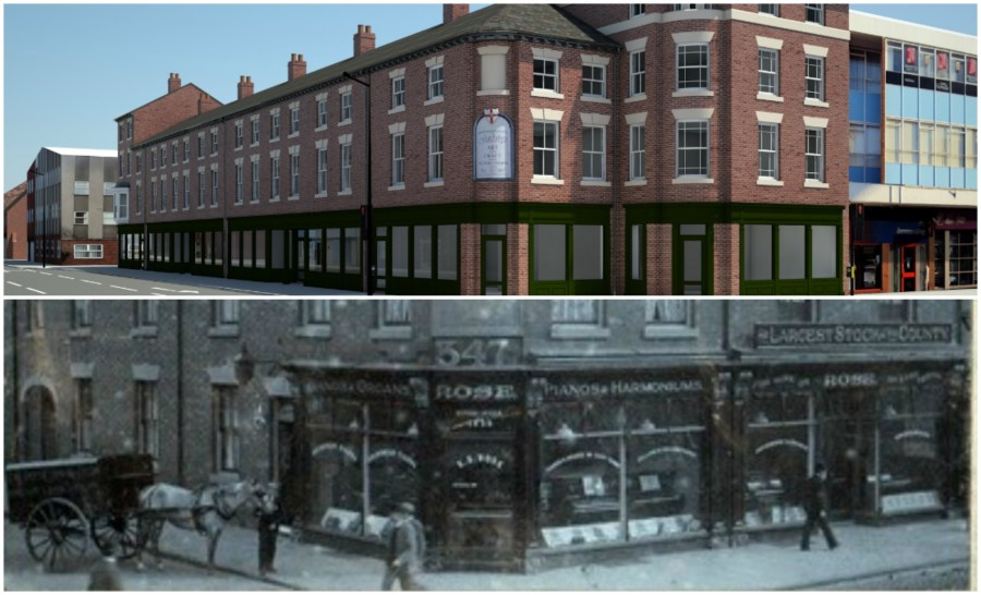 The building will have undergone a major transformation from its days as a music warehouse.