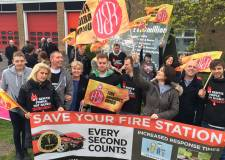 The council received a number of petitions following Fire Service cuts to Lincoln