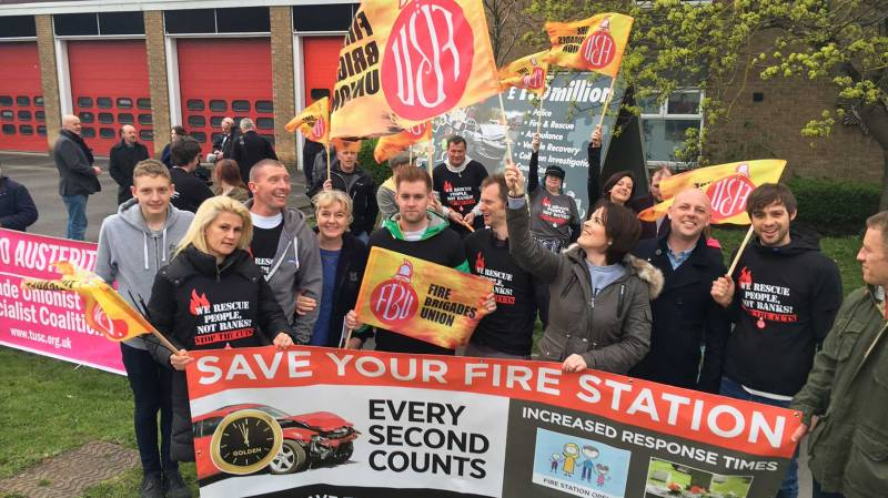 Over 50 people attended the consultation meeting over cuts to Lincolnshire's fire and rescue service on April 11
