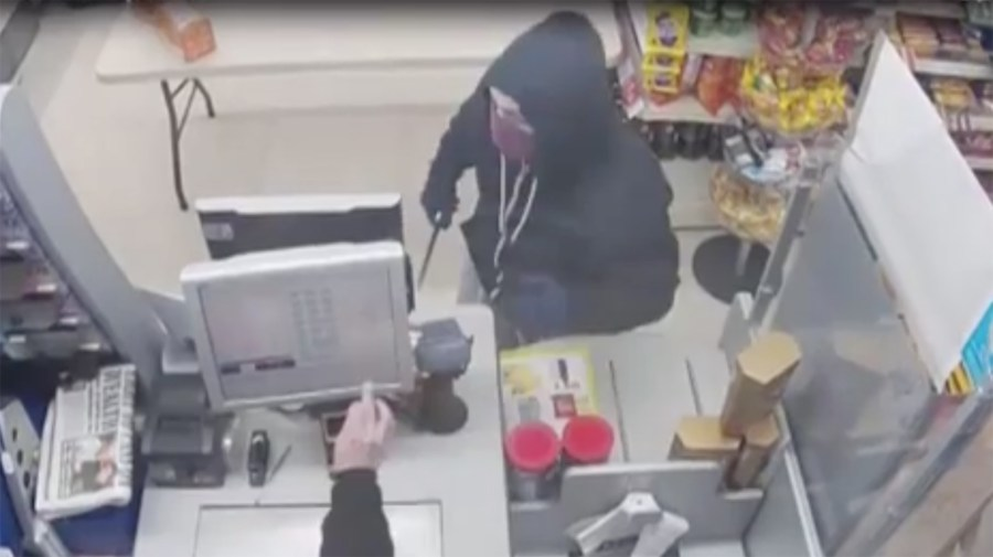 Police have release CCTV images as investigations into the robberies continue.
