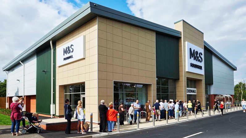 M&S's Simply Food store at Meole Brace