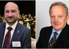 Police and Crime Commissioner Marc Jones (left) and his proposed deputy, Councillor Stuart Tweedale