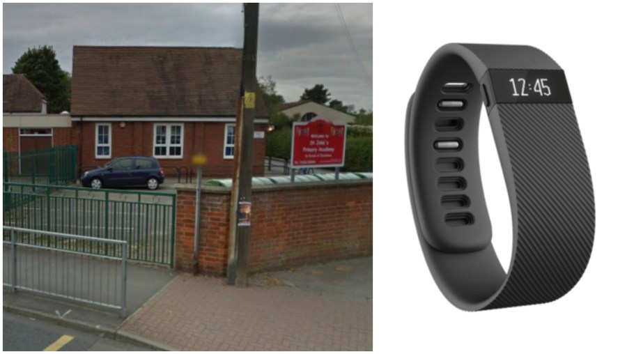 Fitbits have been banned from the Lincoln village school.