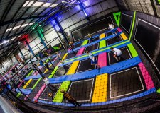 The new trampoline park will offer a range of different activities and classes. Photo: Jump Inc