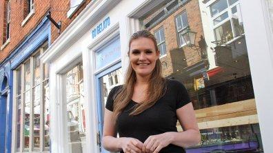 Shop owner Lucie Poole. Photo: Emily Norton