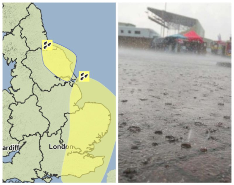 Chief Forecaster's predict that the severe rain will follow into Wednesday