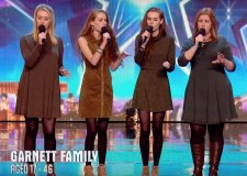 The Garnett Family wowed the judges on Saturday night. Photo: YouTube