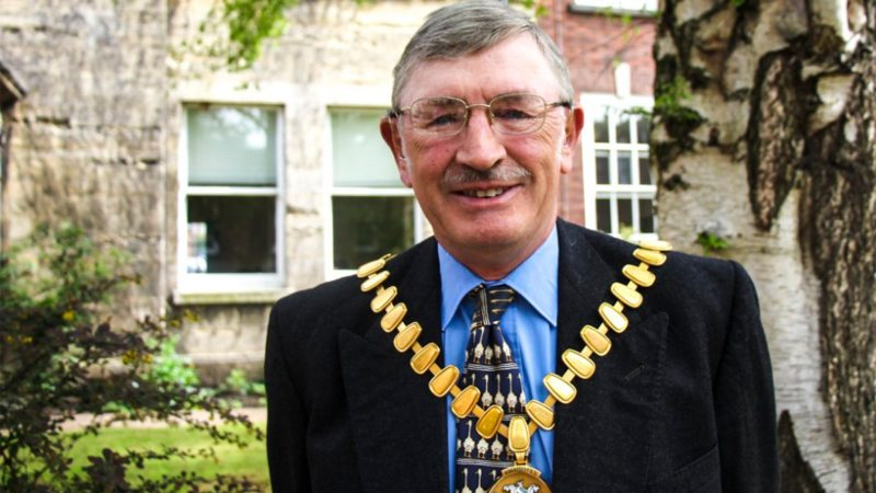 New chairman, Councillor Thomas Martin Trollope-Bellew. Photo: Lincolnshire County Council