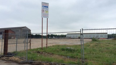 The proposed site for the 584-space temporary car park off Beevor Street. Photo: CoLC