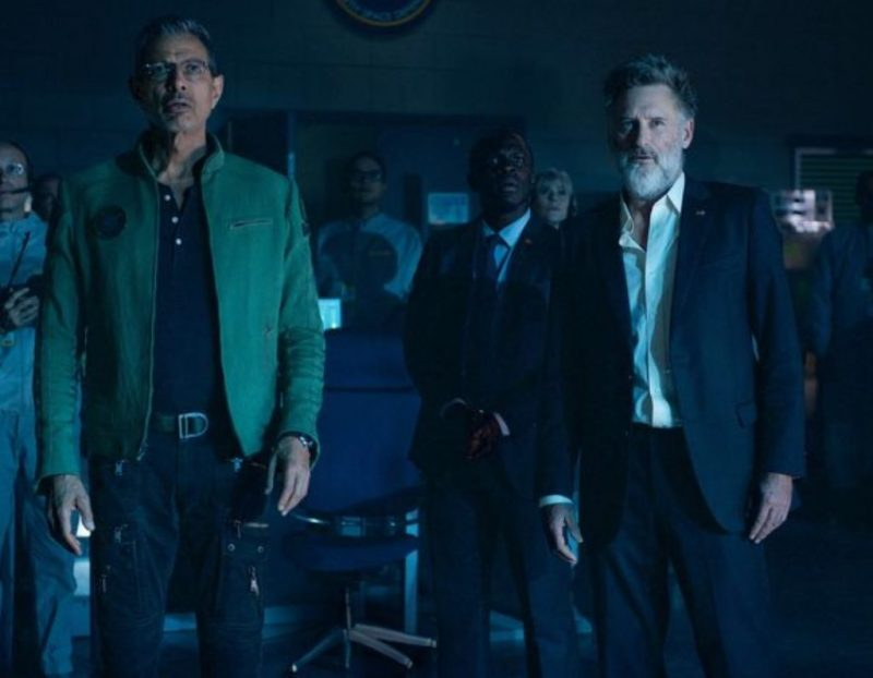 Jeff Goldblum and Bill Pullman in Independence Day: Resurgence. Photo by 20th Century Fox.