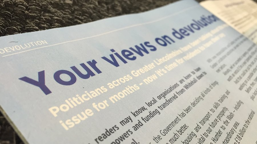 The Greater Lincolnshire devolution consultation is ongoing until August 8.