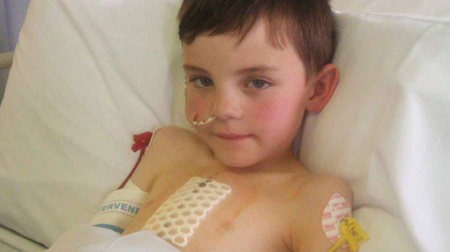 Niall Manning was plunged into heart failure in 2014. His parents are now faced with an even further journey to find a specialist unit that will treat him.