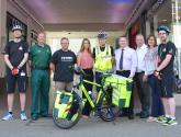 Volunteers saddle up for Lincoln Cycle Response Unit