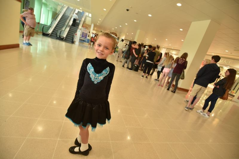 Irish dancer Ruby Cross. Photo: Steve Smailes for The Lincolnite