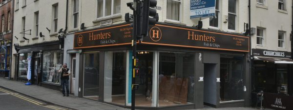 Hunters Fish and Chips to open on Lincoln High Street in Autumn 2016. Photo: Steve Smailes for The Lincolnite