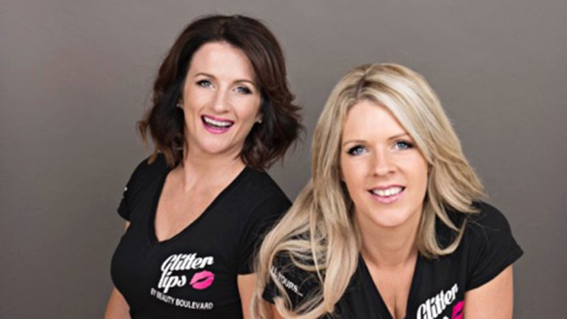 Co-founders of Beauty Boulevard Rachel de Caux and Paula Short take on the dragons on BBC's Dragons Den