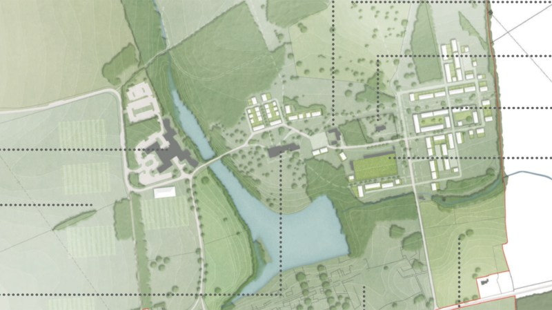 The latest Riseholme development plans submitted by the University  of Lincoln