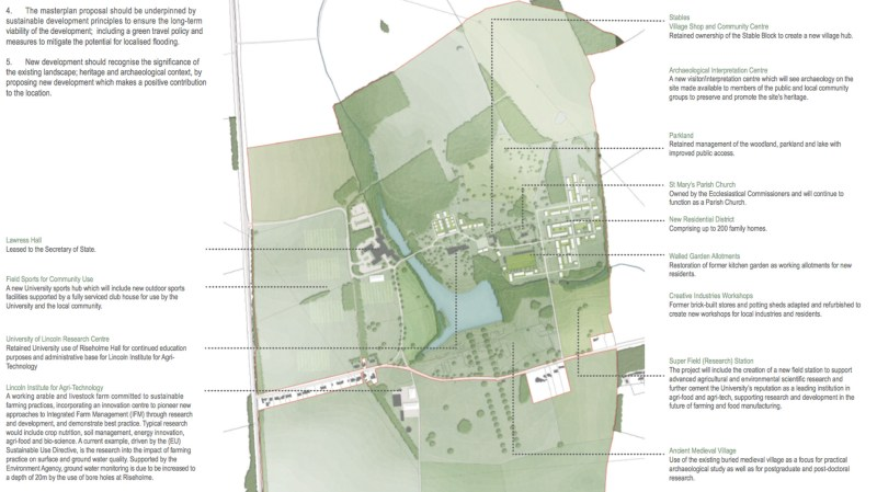 The latest plans for the new Riseholme development. Click to view in more detail.