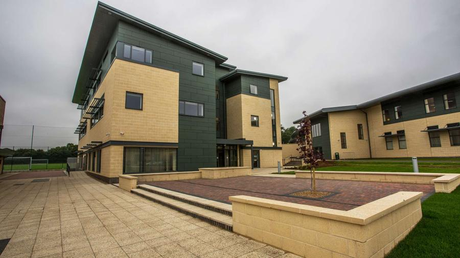 Phaste two of Riseholme College's Showgroudn Campus. Photo: Sean Strange for The Lincolnite