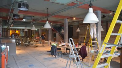 Still a lot of interior work to do but the finished product will be seen on August 26th. Photo: Sarah Harrison-Barker for The Lincolnite