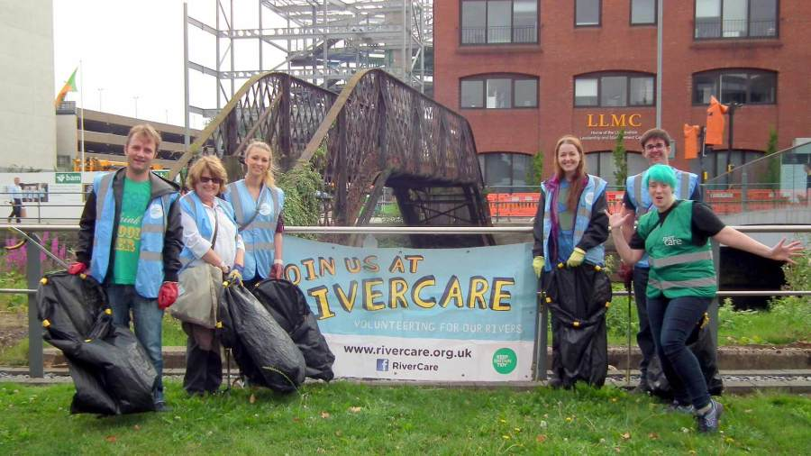 River Care Lincoln Witham pulled 18 bags out of River Witham. Photo: River Care