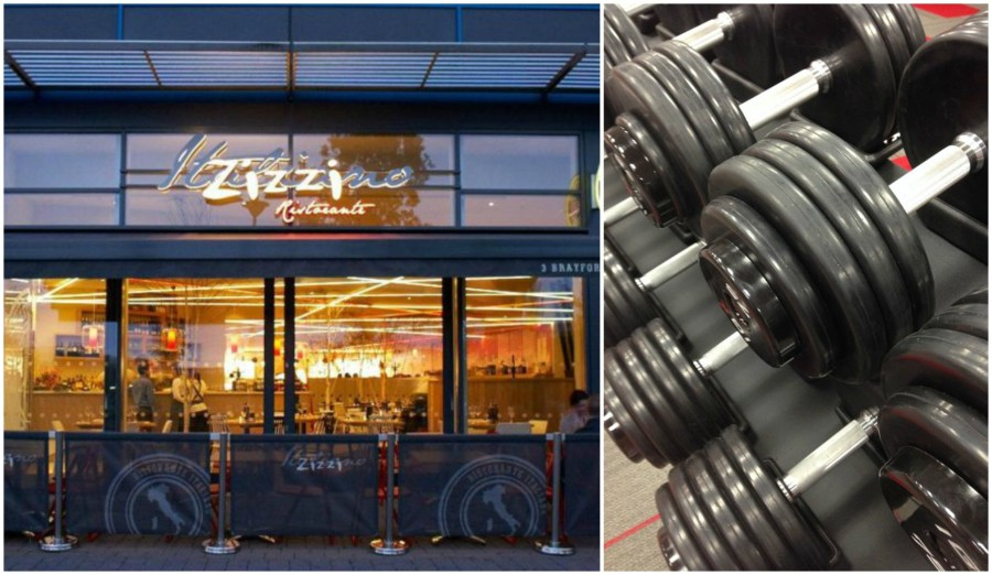 The new gym would be located in the current storage units being the Brayford Zizzi restaurant.