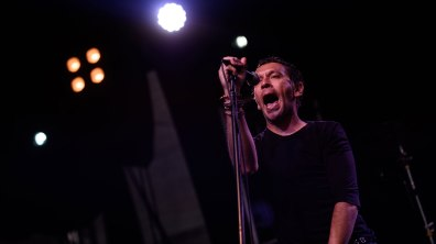 Rick Witter from Britpop band Shed Seven. Photo: Steve Smailes for The Lincolnite