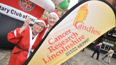 Candles Charity. Photo: Steve Smailes for The Lincolnite