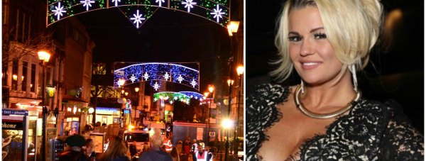 It has  been confirmed that Kerry Katona will but turning on this year's Lincoln Christmas lights.