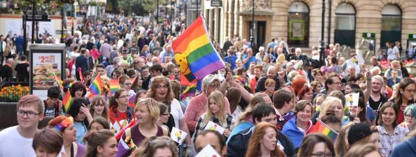 Lincoln Pride 2016. Photo: Steve Smailes