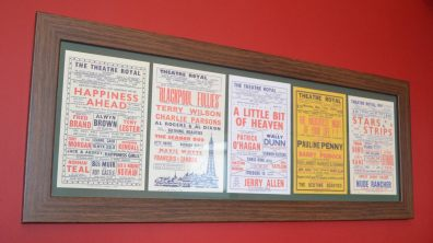 Memorabilia on the walls of the venue. Photo: Sarah Barker for The Lincolnite