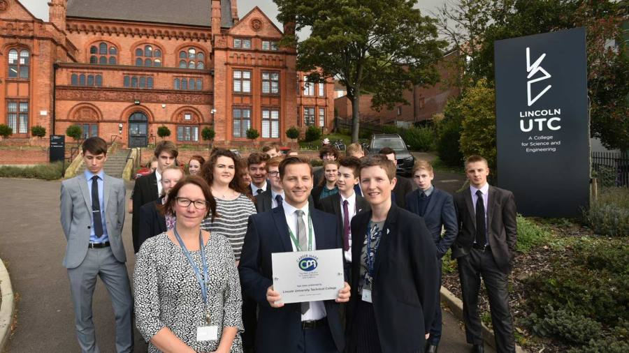 Lincoln UTC has become the first University Technical College in the UK to receive the Career Mark 6 award. Photo: Steve Smailes for The Lincolnite