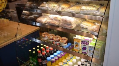 CafeW will provide locally produced cakes and food including cakes and pastries