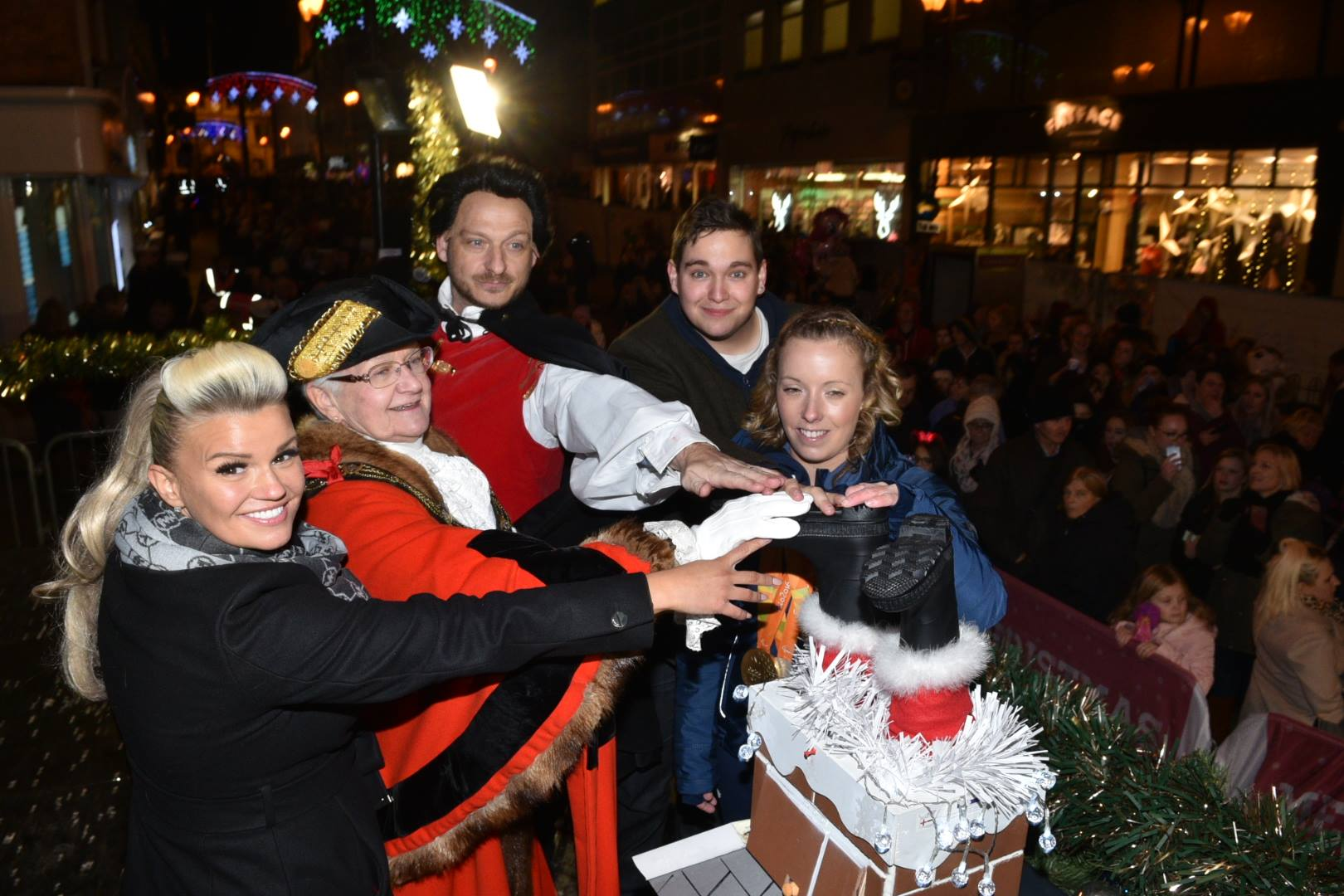 In pictures: Lincoln Christmas lights switch-on 2016